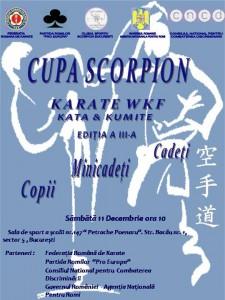 Afis Cupa scorpion 3 var 3